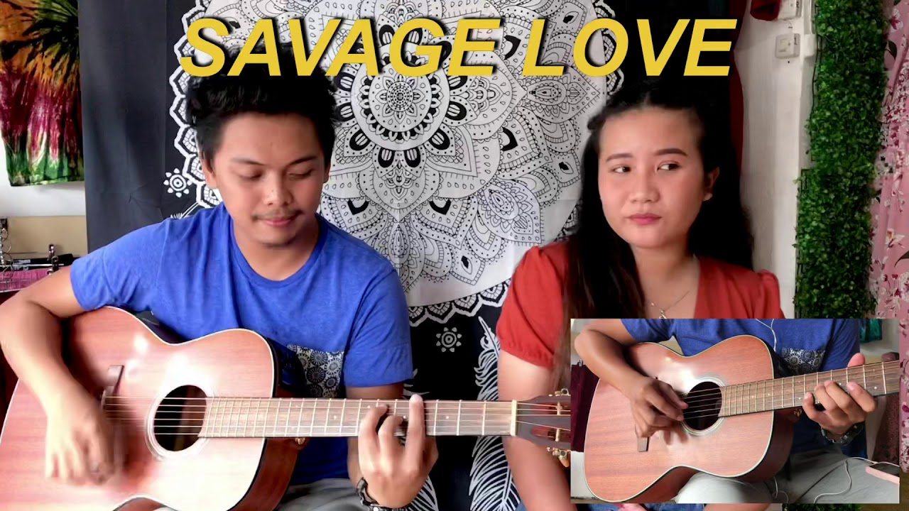 Savage Love ACOUSTIC COVER feat. Marj