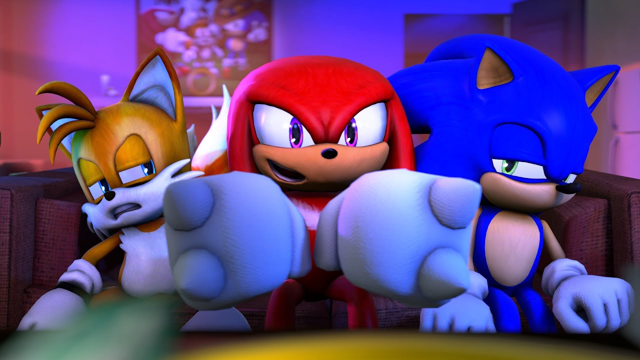 It is an image of Sassy Sonic the Hedghog Images
