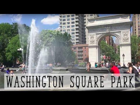 PASSEIO PELO WASHINGTON SQUARE PARK EM NOVA YORK | NY