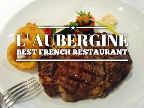 Best French Fine Dining Restaurant Manila: L' Aubergine Bonifacio Global City by HourPhilippines.com