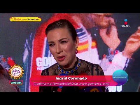 ¡Ingrid Coronado confirma que Fernando del Solar se recupera en casa! | Sale el Sol