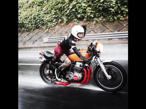 Nostalgicbike.com (Documentary of Japanese Cafe Racer CB750Four)【English Subtitle】 - YouTube
