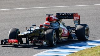 Pastor Maldonado Confirmed at Lotus F1 Team for the 2014 F1 Season