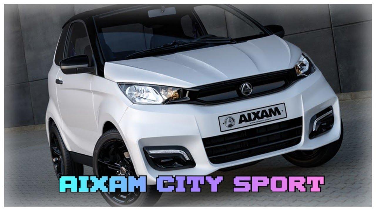 Je RE teste une voiture sans permis (Aixam City Sport 2021)