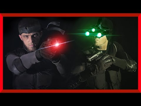 Solid Snake Vs Sam Fisher | Metal Gear Solid Vs Splinter Cell