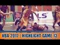 Highlight VBA 2017 || Game 13: Danang Dragons vs Cantho Catfish  | 23/09