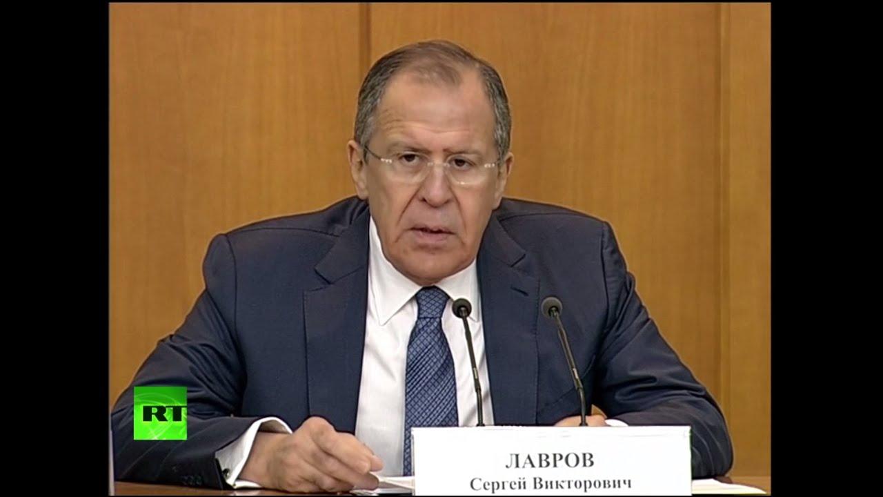 Сергей Лавров подводит итоги внешнеполитической деятельности в 2015 году
