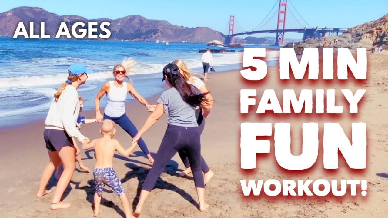 5 MIN Family Fun Workout