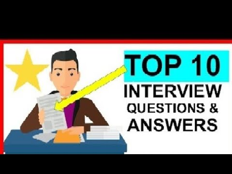 Top 10 Interview Questions and Answers || HR Questions ...