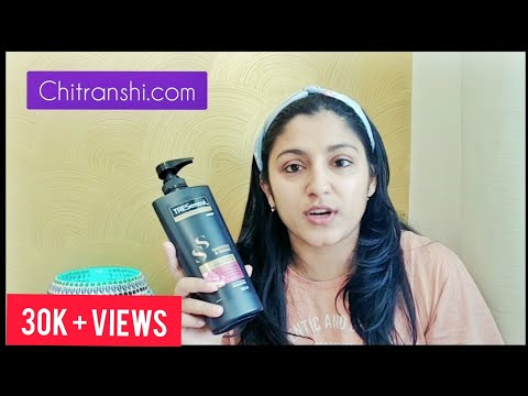 Tresemme Shampoo Review | Best Shampoo to use after heavy hair oiling | Dry & Damaged Hair