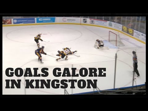 Kingston Frontenacs Stomp The Barrie Colts