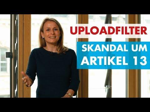 Artikel 13: Uploadfilter stoppen! Barley peinlich bei Böhmermann (ZDF)! SPD, CDU & CSU: Wortbruch!