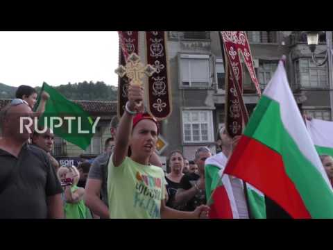 Bulgaria: Thousands decry 'Roma aggression' in Asenovgrad march