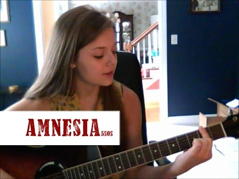 Amnesia- 5SOS Beginning Guitar Tutorial