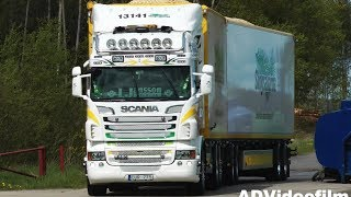 Scania Wood Chip Truck 60 ton Strängnäs 2012