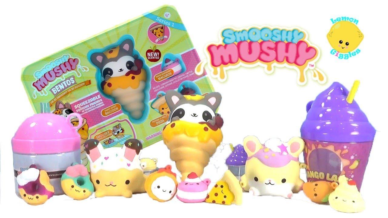 Squishy Mushy Frozen Delights : What s YOUR Smooshy Mushy Name? Frozen Delights, Bento, Besties Walmart Squishies - Squishy Haul ...