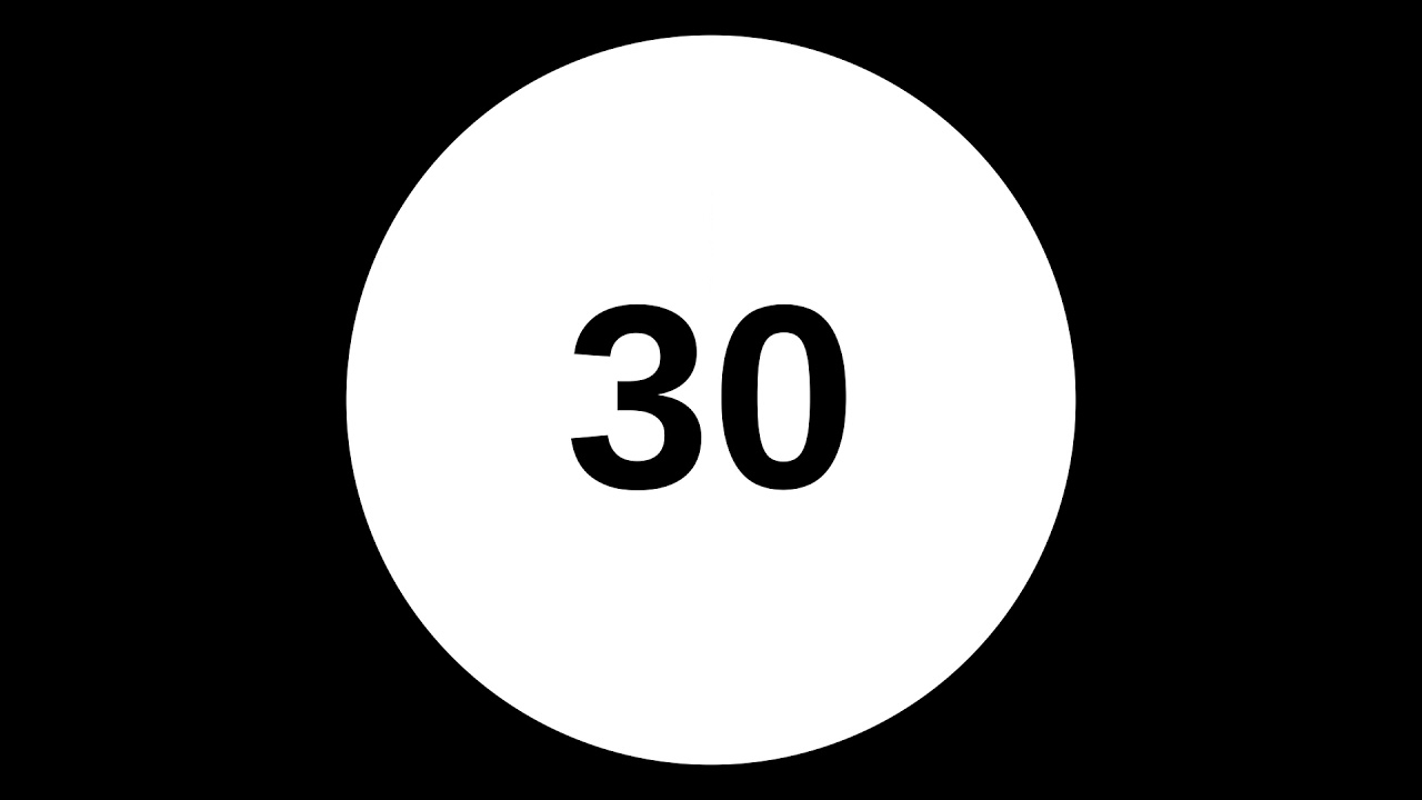 Interval Timer 30 Seconds - YouTube