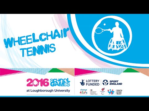 School Games 2016 - Wheelchair Tennis - Day 1
