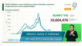 México ascendió, al corte de este 16 de mayo, a un total de 220 mil 433 muertes por Covid-19, según informaron autoridades de la Secretaría de Salud
