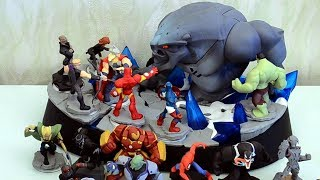распаковка Disney INFINITY: Marvel Super Heroes Collector's Edition