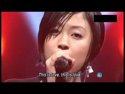 宇多田光 Utada Hikaru - This Is Love. Live On T.V. 2006.