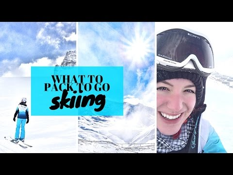 SKI PACKING LIST - Essentials & Tips ❄