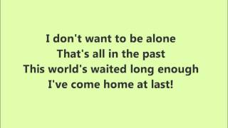 As If We Never Said Goodbye Glee Karaoke / Instrumental