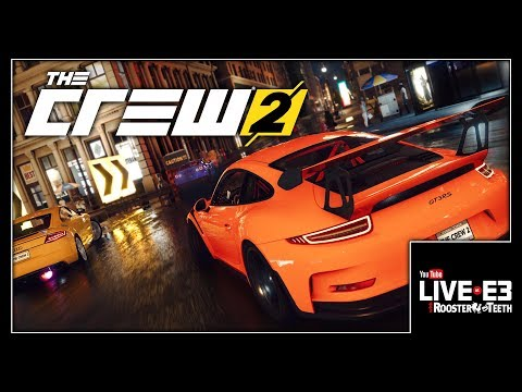 Inception? NO! AUTOCEPTION! The Crew 2 Gameplay & Interview -  Live at E3