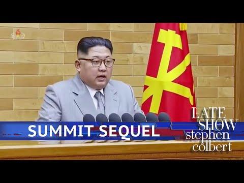 Kim Jong-Un Teases 'Summit 2'