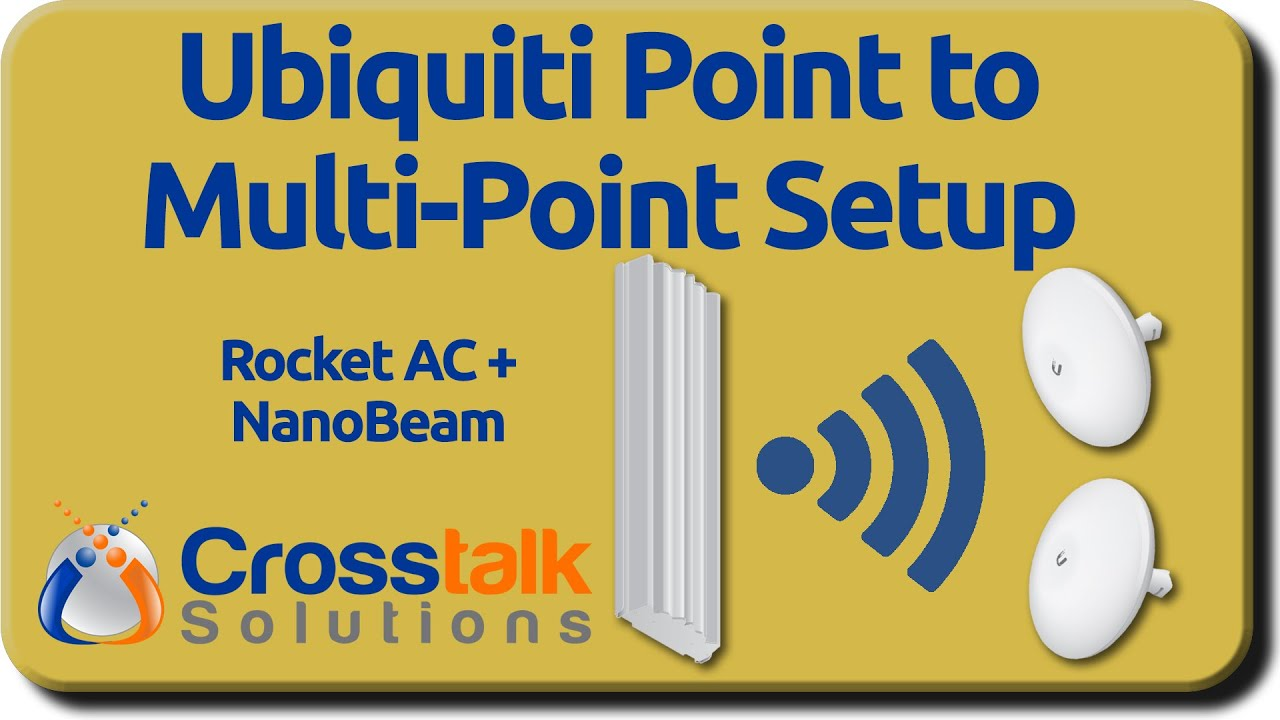 Ubiquiti Point To Multi Setup Youtube Typical Home Wireless Network Diagram