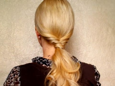 different styles of hair cuts ponytail hair styles прически на каждый день своими 4849 | hqdefault