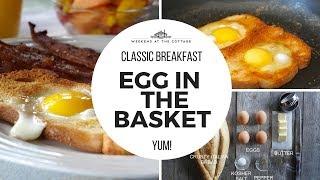 EGG IN THE BASKET | Easy! Fun! Tasty!