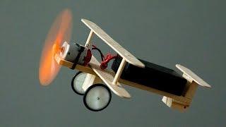 Как сделать мини работающий самолёт
