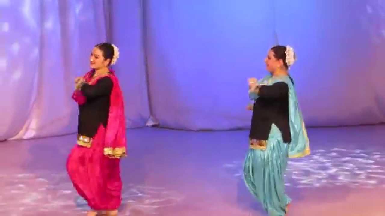 Chamak challo chel chabeli duet dance by anastasia and yulia youtube publicscrutiny Choice Image