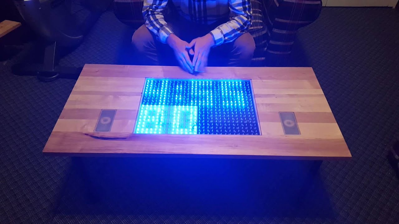 Charming Interactive Coffee Table