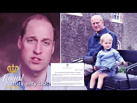 Finally, William officially breaks silence following Philip's passing with deeply touching message