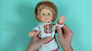 """Кукла """"Митя"""" в белорусском костюме - обзор детских товаров"""