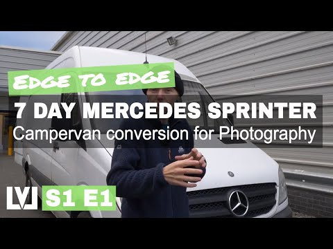 7 day Mercedes Sprinter Van Campervan Conversion