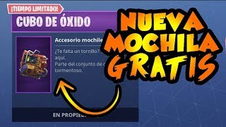 How to get this FREE MOCHILA on FORTNITE!