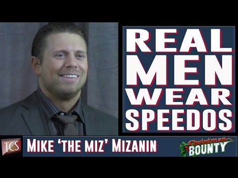 Mike The Miz Mizanin Exclusive Interview - WWE, Christmas Bounty