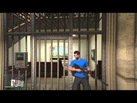 Gta 5-How to get inside Pacific standard bank vault next gen
