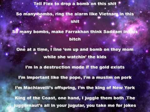 Big Sean - Control Ft. Kendrick Lamar & Jay Electronica (Lyric Video) Explicit version