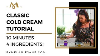 HOW TO MAKE A COLD CREAM IN JUST 10 MINUTES WITH 4 INGREDIENTS!