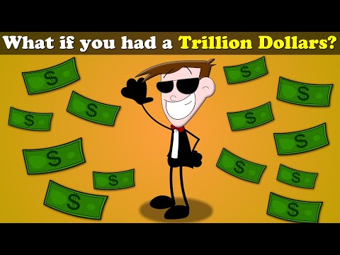 What if you had a Trillion Dollars?   #aumsum #kids #science #education #children