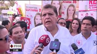 Alan García: Esto dijo sobre el debate con Fernando Olivera