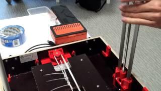 """moteur imprimante 3d #beeprint3d tourne sans """"courant"""" !"""