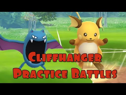 Cliffhanger Practice – Pokemon Go PvP – Go Stadium | Brawl