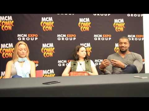 Zoie Palmer, Jodelle Ferland & Roger Cross Interview - MCM Hannover 2016