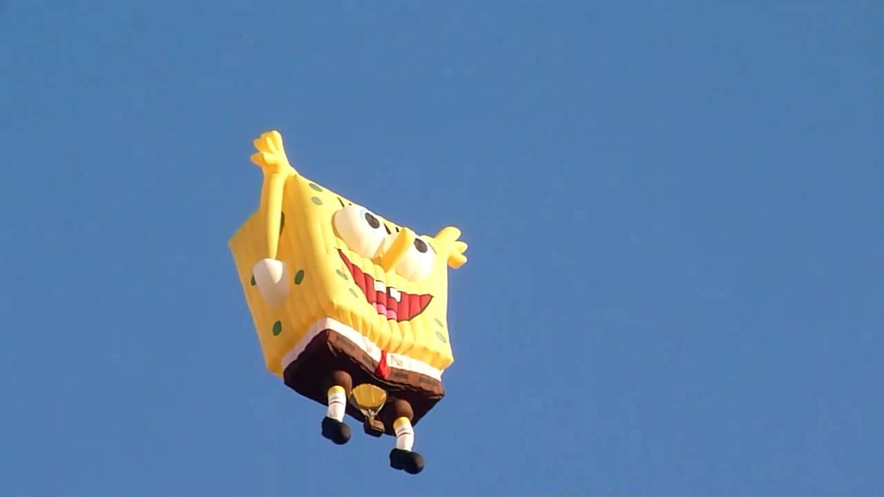 spongebob baloon fiesta 2010