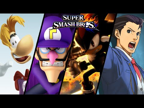 Super Smash Bros TOP 10 Fan-Made Trailers - Waluigi, Shadow & More